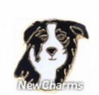 Black & White Dog Charm