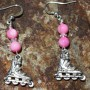 Inline earrings