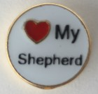 Love My Shepherd Charm