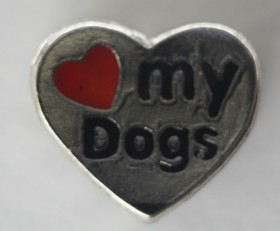Love My Dogs Charm