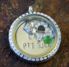 The Lazy Pit Bull Laambie Locket Benefiting The Lazy Pit Bull