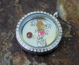 Shelter Pets Rock Laambie Locket Benefiting Sponsor Adoptions