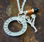 Cheer Necklace Personalized For Your School Or Team