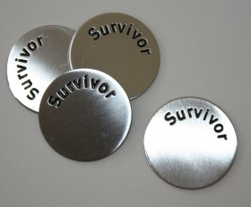 Survivor Disc for Large Laambie Locket