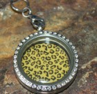 Leopard Disc for Large Locket