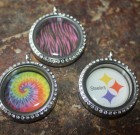 Tie Dye Disc For Large Laambie Locket
