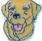 Yellow Retriever Charm