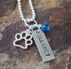 Personalized Necklace Celebrating Your Pet