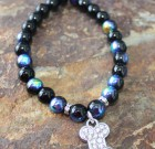 Blues City Bling Paw Bracelet
