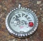 Gasparilla Laambie Locket