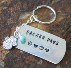 Parker Paws Key Chain