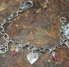 Blues City Charm Bracelet