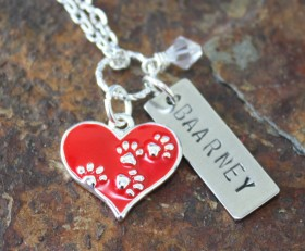 Pawsitively Love Necklace