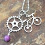 Bike Gear necklace