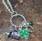 Luck Of The Irish Charm Necklace