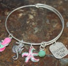 Beach Adjustable Bangle Bracelet
