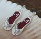 Roll Tide Flip Flop Earrings