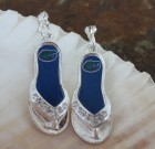 Florida Gators Flip Flop Earrings
