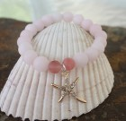 Pink Quartz & Starfish Sparkle