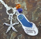 Gators Flip Flop Necklace