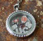 Tampa Bucs Flag Laambie Locket