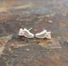 Pastel Pink Running Shoe Earrings