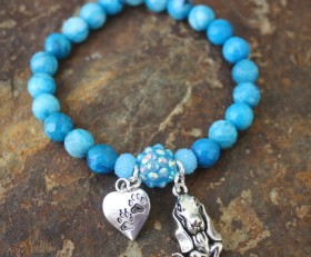 Basset Hound Love Bracelet Benefiting Suncoast Basset Rescue