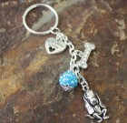 Basset Hound Love Key Chain Benefiting Suncoast Basset Rescue