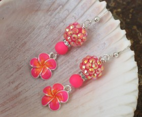 Bling On The Pink Flowers
