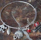 Tampa Buccaneers Adjustable Bangle Bracelet
