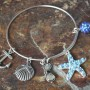 blue starfish bangle