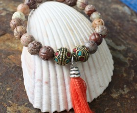 Natural Fossil Tassel
