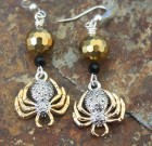 Gold Sparkle Spider