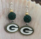 Green Bay Packers Shining Earrings