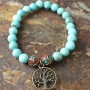 turquoise tree of life flat