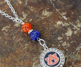 Auburn Bling Necklace