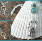 Mermaid Earrings & Necklace Set Special