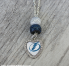 Tampa Bay Lightning Bling Necklace