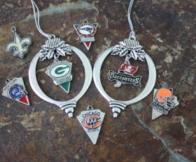 NFL Team Ornaments