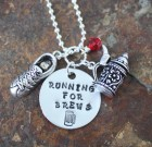 Running For Brews Necklace
