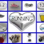 running charms collage