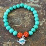 Dolphins beaded bracelet