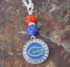 Florida Gators Bling Necklace