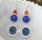 Florida Gators Bling Earrings
