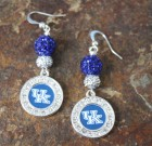 University of Kentucky Bling Earrings