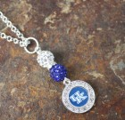 University of Kentucky Bling Necklace