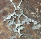 Sea Animals Charm Necklace