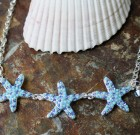 Blue Starfish Sparkle