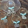Bike Wine Charms