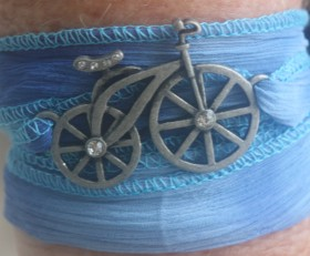 Bicycle Bling Wrap Bracelet (Copy)